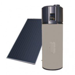 KIT Heat pump AQS stainless steel 200L + Thermal Solar Atl.2000