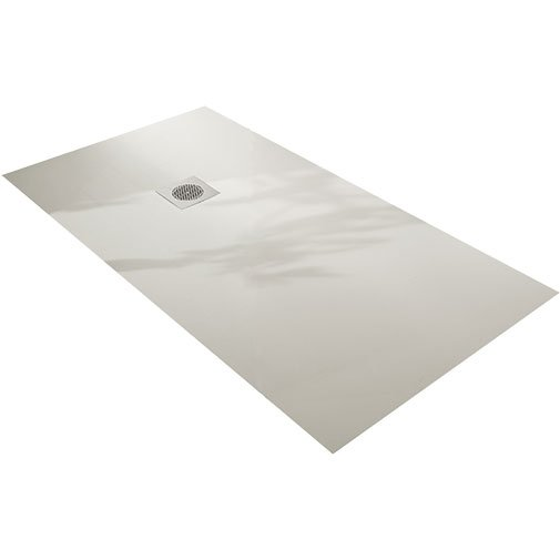 Natural shower tray 70x90cm white