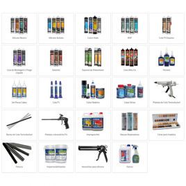 Silicones, Glues and Others