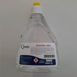 Alcohol Gel 500ml - Qualy