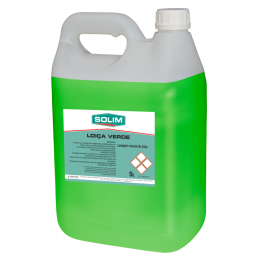 Green Liquid Detergent for Manual Washing of Concentrated Dishes